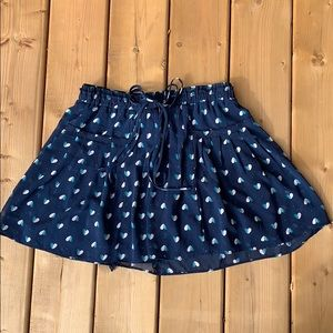 💙 Printed Skirt, size medium